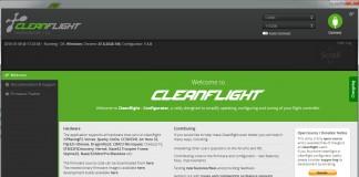 Cleanflight - Configurator 1.1.0