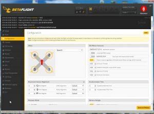 Betaflight configurator - Configuration