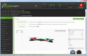 Cleanflight Configurator 1.2.4 - Setup